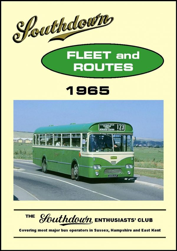 Southdown Fleet and Routes 1965