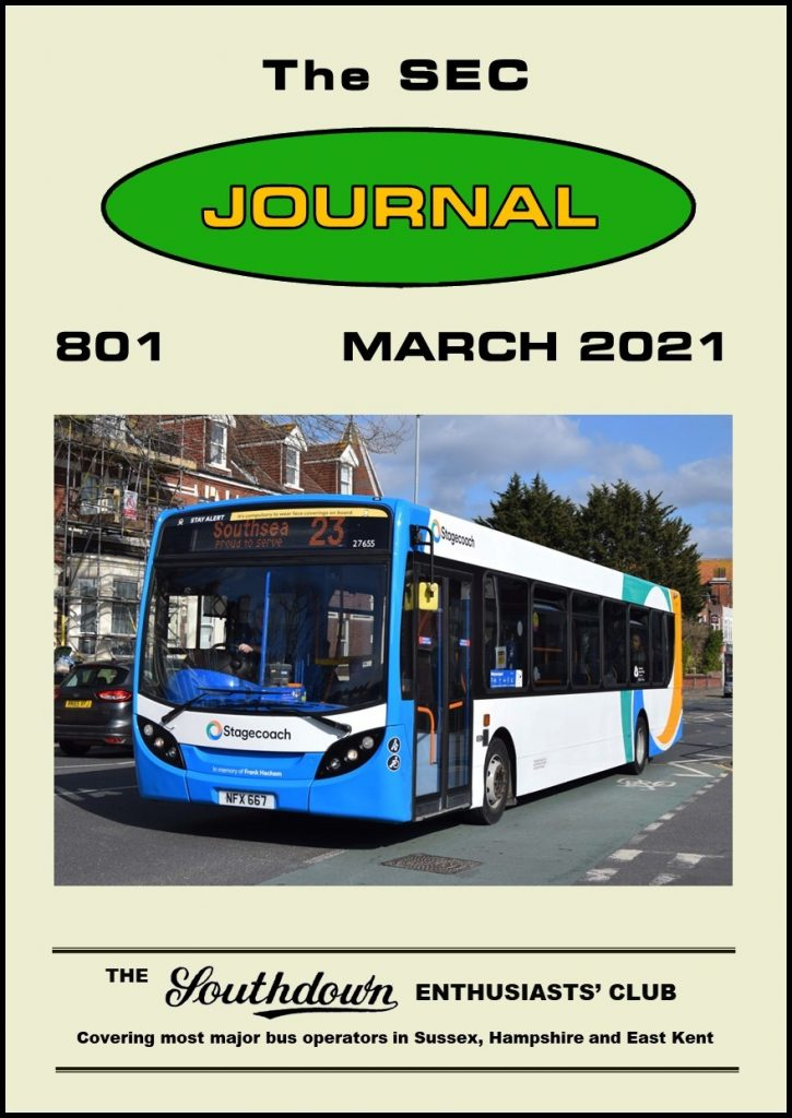 March 2021 Journal front cover