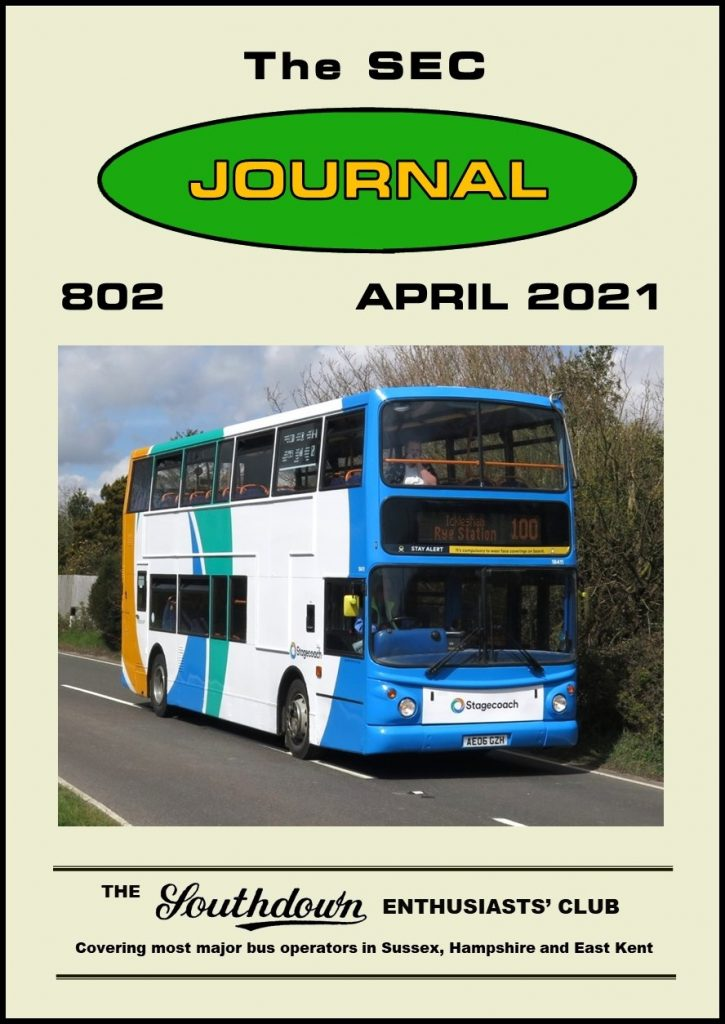 April 2021 Journal front cover.