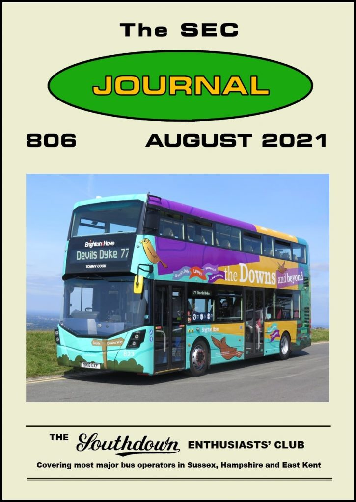 August 2021 Journal front cover