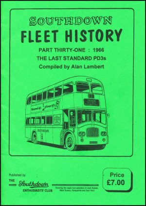 Southdown Fleet History 31 front cover.