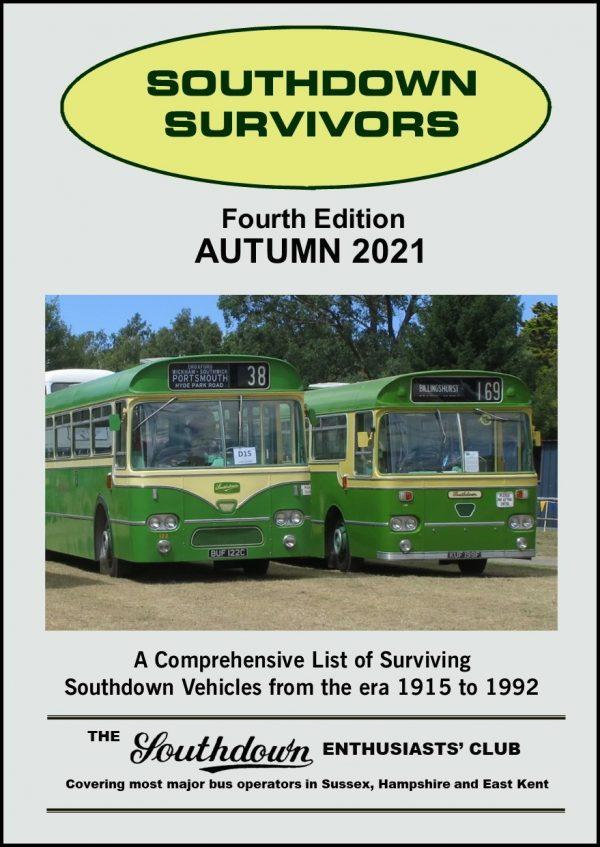 Southdown Survivors Autumn 2021 Front Cover