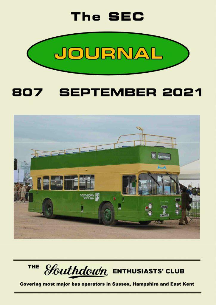 September 2021 Journal front cover