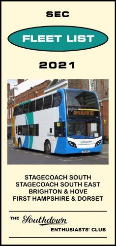 Fleet List 2021 front cover