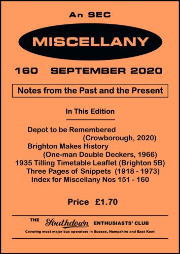 Miscellany 160 front cover