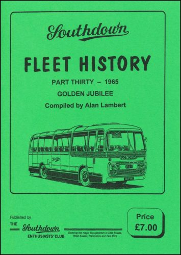 Fleet History part 30 front cover